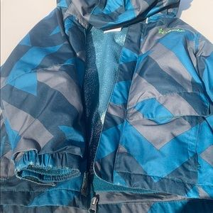Boys Columbia Omni Heat 3-in-1 Jacket.